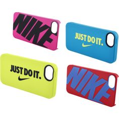 """""""NIke Phone Cases"""" by gdriver on Polyvore"""