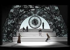La Vie Parisienne from L'Opéra National de Lorraine, Nancy. Production by Carlos Wagner. Sets by Rifail Ajdarpasic.