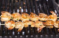 Pikantné krevety na grile