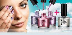 Crea diseños atrevidos de una manera muy fácil con los Esmaltes de Uñas Nail Paint de Oriflame!!