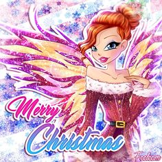 Winx Club - Merry Chistmas 2017 by Feeleam.deviantart.com on @DeviantArt