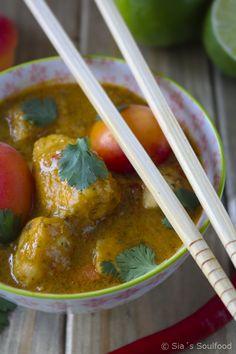 Hähnchen-Curry mit Aprikosen