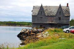 houses, notebook, barrels, nova scotia, shelburn, homes, factories, scotia canada, place