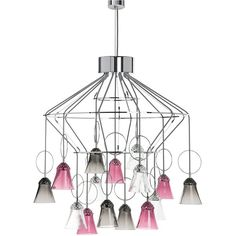 Saint-Louis Crystal Apollo 15-light chandelier ($31,020) ❤ liked on Polyvore featuring home, lighting, ceiling lights and ar15 light