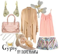 Disney Bound: Gypsy from Disney's A Bugs Life