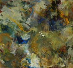 Burst Break in the Clouds, oil on board, 89 x 94 cm Cloud Burst, oil ...