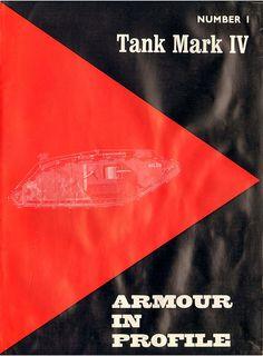 Livre - Revue Char Mark IV - Armour In Profile 001