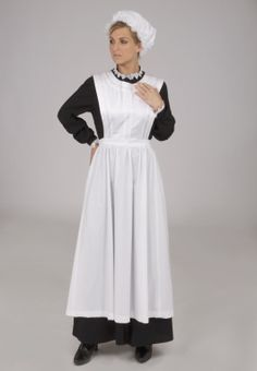 Agatha Downton Abbey Styled Maid's Uniform