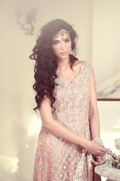 Pakistani fashion | Fairy Dust Bridal Rs: 350,000 |Tena durrani.com