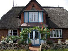 House in Amrum, Schleswig-Holstein, Germany