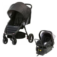 Steelcraft Agile Stroller + Steelcraft Infant Carrier Capsule Pram
