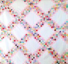 MessyJesse - a quilt blog by Jessie Fincham: Scrappy Irish Chain Quilt Pattern