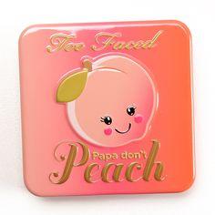 Too Faced Papa Don't Peach Sweet Peach Blush Review, Photos, Swatches