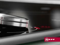 El Twistpad es un exclusivo mando magnético para controlar con facilidad todas las zonas de cocción de algunas placas de inducción Neff. Detalles como este hacen que cocinar sea un verdadero placer.