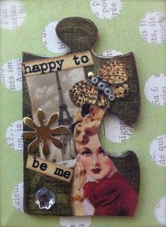 altered puzzle piece #2 | Flickr - Photo Sharing!