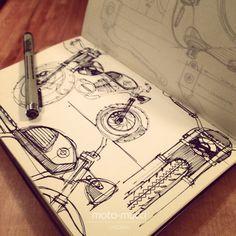 Moto-Mucci: ART&DESIGN: Concept Sketching