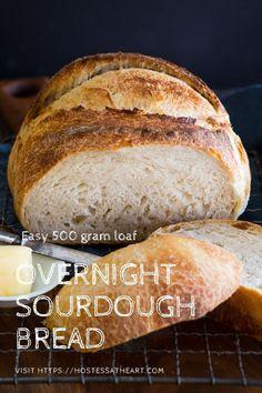 Overnight Sourdough Bread Recipe, Sourdough Bread Starter, Sourdough Recipes, Sourdough Pizza, Yeast Bread, Artisan Bread Recipes, Easy Bread Recipes, Banana Bread Recipes, Cooking Recipes
