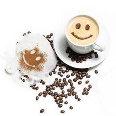 Una din cele mai tari idei de Cadouri de Buget - Forme pentru Cafea - Set de 16 cu ajutorul carora poti crea adevarate opere de arta   #incrediblepunctro #cafea #formecafea #cadou #cadouri #cadouridebuget Latte, Panna Cotta, Barista, The Incredibles, Ethnic Recipes, Garden Ideas, Dulce De Leche, Landscaping Ideas, Backyard Ideas