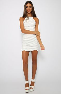 Undying Love Dress - White   Clothes   Peppermayo