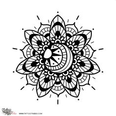 Mehndi sun. Life, joy. The sun symbolizes life in every culture. More info and hi-res at http://www.tattootribes.com/index.php?newlang=English&idinfo=7651