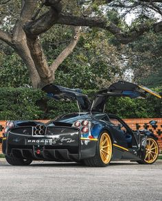 Exceptionnel Pagani Huayra 720S
