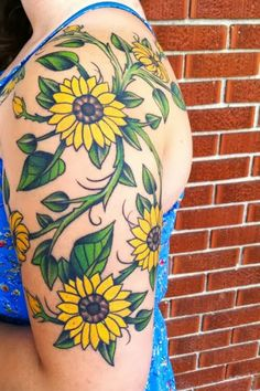 20 Amazingly Colorful Flower Tattoo Designs | How to Tattoo?