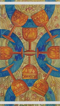 8 de coupes - Tarot cristal par Elisabetta Trevisan