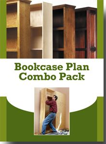 Learn about building bookcases in this FREE Download Today!