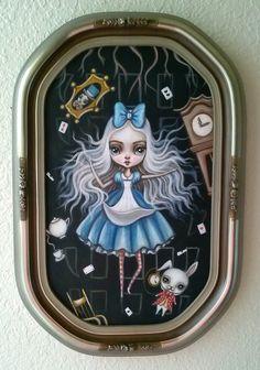 """Down the Rabbit Hole"" by Lauren Saxton."