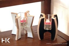 Candlesticks LAMPIO is a shot of the original design, which will add to your interior a new character.  The warmth of wood combined with white and black laminate, give them a great style.  Candlesticks are available in three heights and shapes. You can freely compose, although we do not hide that they liked each other's company and so best to blend. #candle #candlestick #decor #homedecor #design #konzept #konzepthome #gift