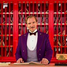 The Grand Budapest Hotel - Publicity still of Ralph Fiennes. The image measures 5760 * 3840 pixels and was added on 28 May Grand Hotel Budapest, Maggie Smith, Wes Anderson Films, Hogwarts, Lobby Boy, Cinema Film, Grande Hotel, Fritz Lang, Budapest