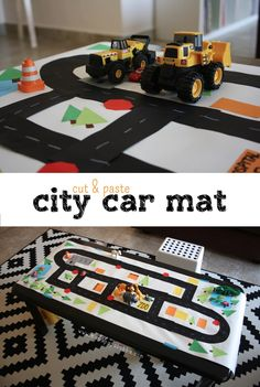 Cut & Paste City Car Mat