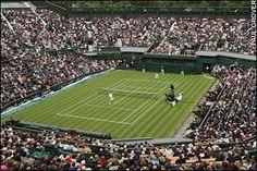 Centre court at Wimbledon!