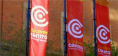 """Identidad Visual Corporativa """"Cáceres Centro Comercial Abierto""""."""