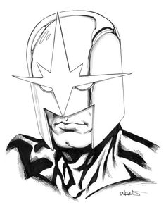Nova, in Kevin West's Sketches Comic Art Gallery Room Marvel Heroes, Marvel Comics, Comic Pictures, Comic Pics, Gardians Of The Galaxy, Secret Avengers, New Warriors, Black White Art, Silver Surfer