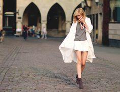 white summercoat - BEKLEIDET - Modeblog / Fashionblog GermanyBEKLEIDET – Modeblog / Fashionblog Germany