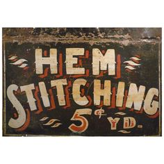 Anonymous Double-sided Antique Trade Sign