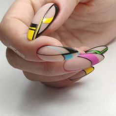 Do you want to try to go to Build-it-yourself nail art but exactly where do you start? The very first thing you need to do is get your hands on some basic nail art specific tools. Fabulous Nails, Perfect Nails, Gorgeous Nails, Pretty Nails, Beautiful Nail Designs, Cool Nail Designs, Geometric Nail, Nail Blog, Instagram Nails