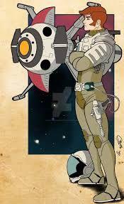Resultado de imagen de captain future robot