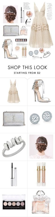"""""""Untitled #26"""" by lerazemnew ❤ liked on Polyvore featuring Carolina Herrera, Marchesa, Yves Saint Laurent, Zelens, Sisley, L.A. Colors and Guerlain"""