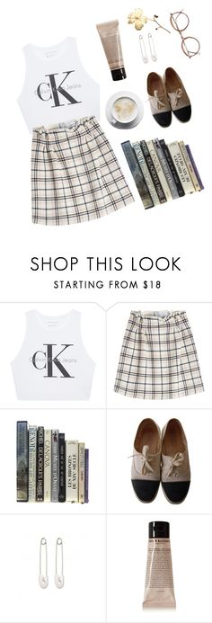 """a tilted frame"" by essence-of-stars ❤ liked on Polyvore featuring Calvin Klein Jeans, Carven, Chanel, Kristin Cavallari and Grown Alchemist"