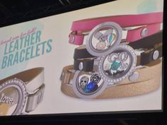 New leather bands...cannot wait. These are adorable. Coming in August! www.charmedbycharlie.origamiowl.com Designer ID: 36559