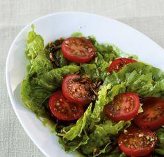 Zu Gegrilltem passt manchmal auch ein schilchter Salat und alle sind glücklich!