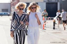 {Zanita Morgan} & {Candice Lake} chillin in Sydney for #AFW #MBFWA #streetstyle