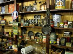 old general stores | Old-time general store shelves IMG_0819 | Flickr - Photo Sharing!