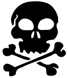 Skull 07 by @liftarn, Traced from a public domain image found at http://www.wpclipart.com/signs_symbol/skull/index.html