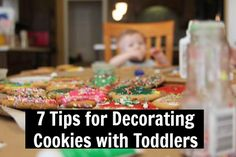 7 Tips for Decorating Cookies with Toddlers
