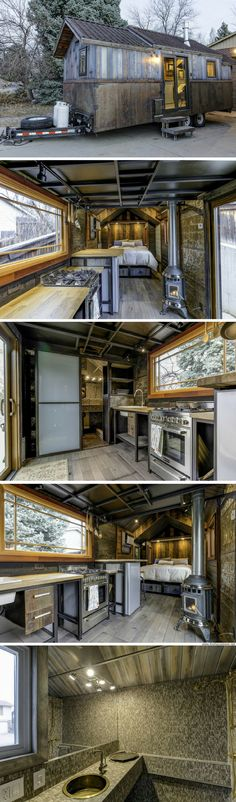 The Earth and Sky Palace tiny house (200 sq ft)