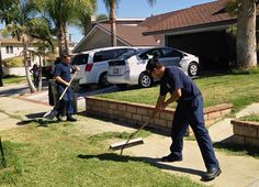 Firefighters finish yard work for man who collapsed while mowing  When a Corona man suddenly collapsed while mowing his lawn and had to be taken to a hospital, firefighters at the scene decided there was still more to do: Finish the work he started.  http://www.latimes.com/local/lanow/la-me-ln-firefighters-yard-work-man-unconscious-mowing-20141003-story.html
