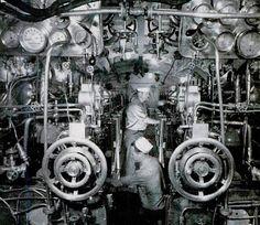 Dark Roasted Blend: Cramped Efficiency: Inside a Submarine